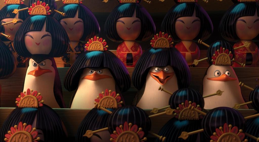 Madagascarin Pingviinit 3d