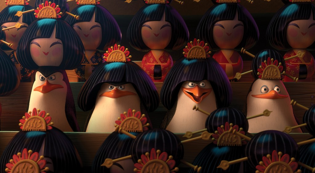 Madagascarin Pingviinit 2D
