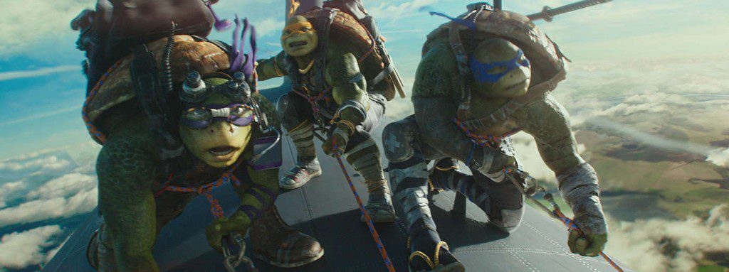 Teenage Mutant Ninja Turtles: Out of the Shadows(3d)