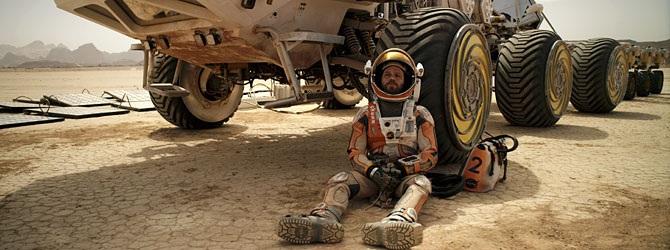 Yksin Marsissa 3d