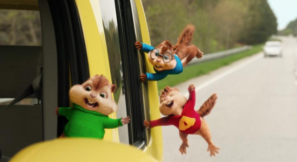 Alvin ja Pikkuoravat Reissussa(dub)