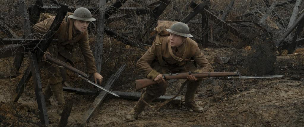 Taistelulähetit – 1917